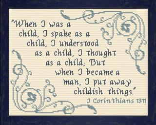 I Put Away Childish ThingsLG